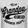 New Grandpa 2018 - Men's T-Shirt