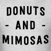 Donuts and Mimosas - Men's T-Shirt