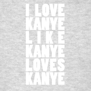 I Love Kanye White - Men's T-Shirt