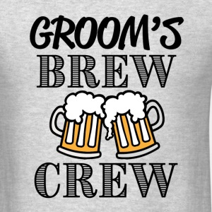 Groom's Brew Crew groomsmen party shirt