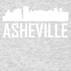 Asheville North Carolina City Skyline - Men's T-Shirt