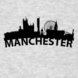Arc Skyline Of Manchester England - Men's T-Shirt