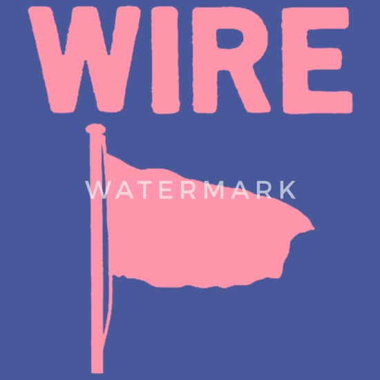 Wire - Pink Flag Men's T-Shirt | Spreadshirt