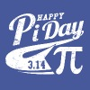 happy_pi_day - Men's T-Shirt