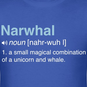 Narwhal. Combo of Unicorn and Whale