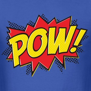 pow graphic t-shirt