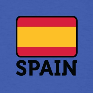 National Flag Of Spain - Men's T-Shirt