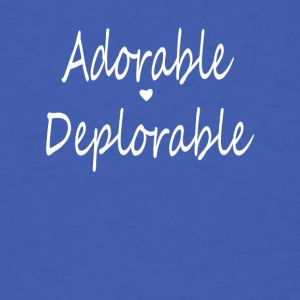 Adorable love Deplorable - Men's T-Shirt