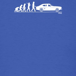 Evolution of Man Ford Capri Mk1 - Men's T-Shirt