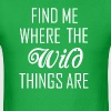 Where the wild things are - Men's T-Shirt