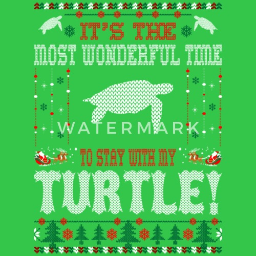 ... wonderful time with turtle christmas ugly sweater by ilovemytee spreadshirt ...