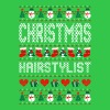 Christmas Hairstylist Ugly Christmas Sweater - Men's T-Shirt