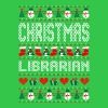Christmas Librarian Ugly Christmas Sweater - Men's T-Shirt