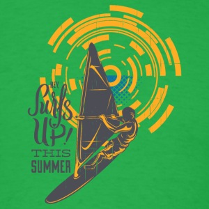 Surf is Up This Summer - Men's T-Shirt