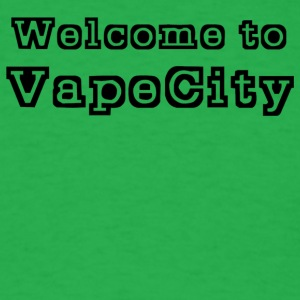 Welcome to VapeCity - Men's T-Shirt