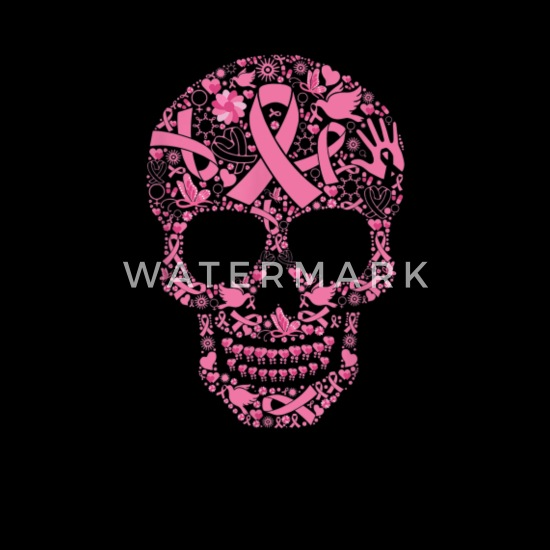 Tattoo Skull Shirt Breast Cancer Awareness Tshirt Men S T Shirt