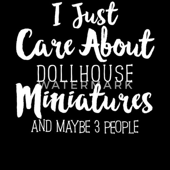 Dollhouse Miniatures dolls Men's T-Shirt   Spreadshirt