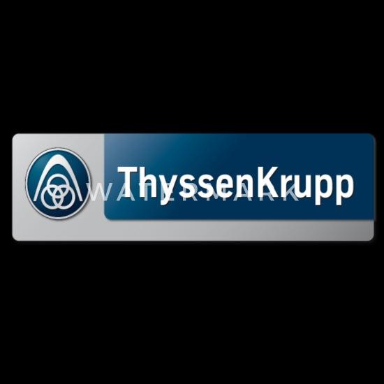 ThyssenKrupp Logo Men's T-Shirt   Spreadshirt