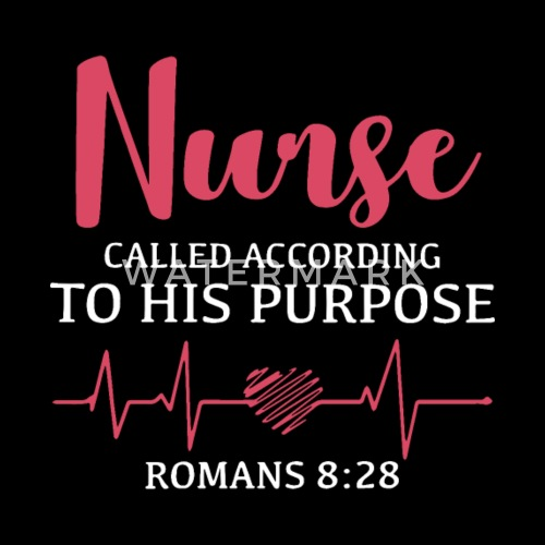 nurse called according to his purpose romans pink by alihutchens