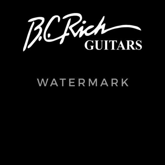 Black T-shirt BC RICH GUITARS Men/'s Size S to 3XL