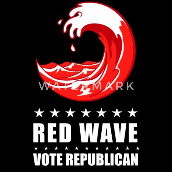 Midterms Red Wave Vote Republican 2018 Men S T Shirt