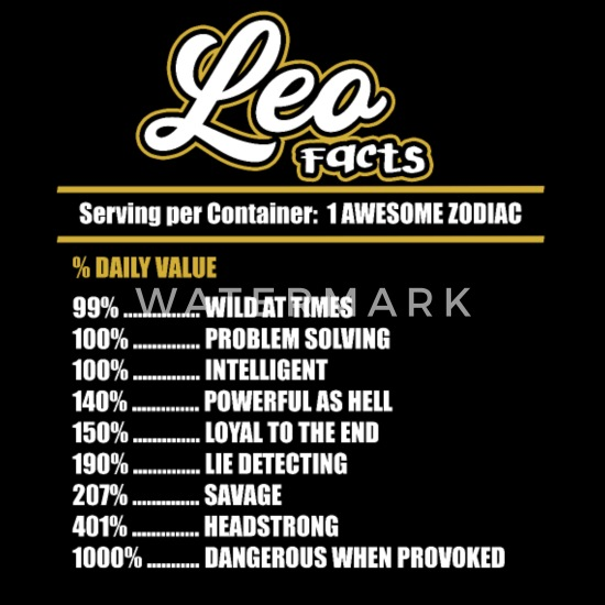 Leos zodiac about things Unknown Facts