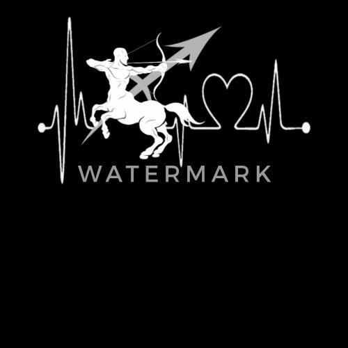 fa2228b37ca Sagittarius Heartbeat Zodiac Sign T-shirt for man Men s T-Shirt ...
