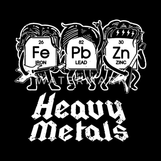 Heavy Metals Chemistry Science T Shirts Men S T Shirt