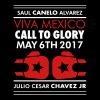 BOXING – CANELO vs CHÁVEZ JR.  - Men's T-Shirt