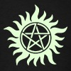 Pentagram - Supernatural - Demons - Sam - Dean - Men's T-Shirt