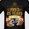 1993 25 Years Of Being Awesome - Men's T-Shirt