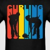 Curlers Silhouette Curling T-Shirt - Men's T-Shirt