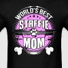 World's Best Staffie Mom Dog Owner T-Shirt - Men's T-Shirt