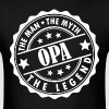 Opa-The Man The Myth The Legend - Men's T-Shirt