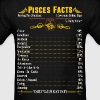 Pisces Facts Zodiac  - Men's T-Shirt