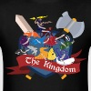 Kingdom Clash of Clans list 2016 White text - Men's T-Shirt