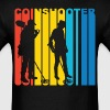 Coinshooter Silhouette Metal Detecting T-Shirt - Men's T-Shirt