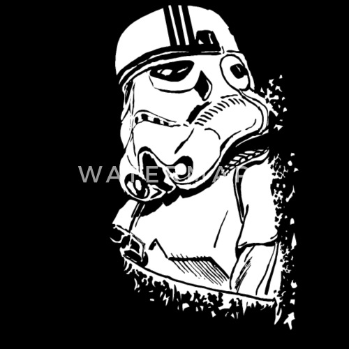 Funny And Cool Star Wars Stormtrooper Graffiti By Vector