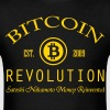 Bitcoin Revolution Nerd - Men's T-Shirt
