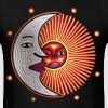 Huichol Peyote Sun and Moon - Men's T-Shirt