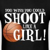Shoot Like a Girl - Men's T-Shirt