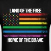 Land Of The Free Home Of The Brave - Men's T-Shirt
