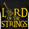 Guitar: Lord of the strings - Men's T-Shirt