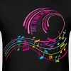Music Art - Men's T-Shirt