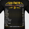 Leo Facts Zodiac  - Men's T-Shirt