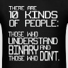 There are 10 kinds of people binary geek joke - Men's T-Shirt
