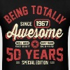 50 Years Of Being Awesome - Men's T-Shirt