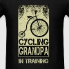 Grandpa - Cycling - Men's T-Shirt