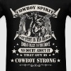Lifestyle / Cowboy - Cowboy Strong - Men's T-Shirt