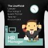 HR Manager - HR Manager, The Unofficial Lawyer, Ps - Men's T-Shirt
